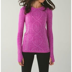 Lulu Rest Less Pullover Ultra Violet Sweater Top